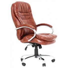 Офісне крісло керівника Richman Валенсія-В 1220х540х530 мм коричневе
