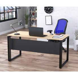 Письменный стол офисный Loft-design G-160 Дуб-борас 16 мм