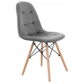 Мягкий стул обеденный Сплит Richman на деревянных ножках для гостей