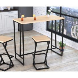 Барный стол BS-125 Loft-Design Дуб-борас светлый
