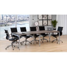 Офісний стіл для переговорів Loft-design Q-2700 мм довгий прямокутний