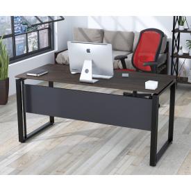 Письменный стол Loft-design G-160 с царгой для офиса прямоугольная столешница лдсп 16 мм