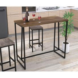 Барный стол BS-125 Loft-Design орех