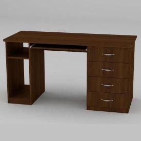 Письменный стол Компанит СКМ-11 1400х600х736 мм орех