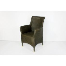 Плетеное кресло Париж CRUZO лум серо-зеленый sd0744