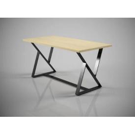 Обідній стіл Діо Тенеро металеві опори