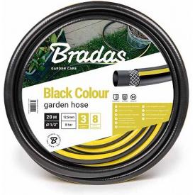 Шланг для полива Bradas BLACK COLOUR 1/2 дюйм 50м (WBC1/250)