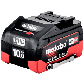 Аккумуляторный блок Metabo 18В, 10.0Аг, LiHD (624991000)