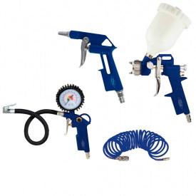 Набор пневмоинструмента Werk Kit-4G (37671)