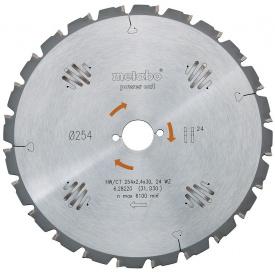 Пильный диск Metabo 230х2,6x30мм НМ WZ=24 (628011000)