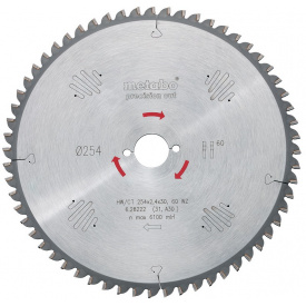 Пильный диск Metabo 160x20 HW/CT 24 WZ (628031000)