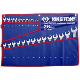 Набор ключей комби King Tony 1226MRN (26 предметов)