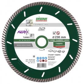 Алмазный диск Distar 1A1R Turbo 232x2,5x12x22,23 Gabbro Max (10115429018)