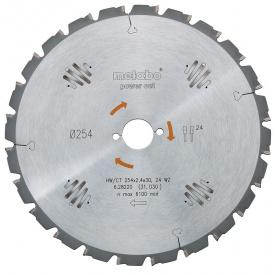 Пильный диск Metabo HW/CT 216x30 24 WZ 5 (628009000)