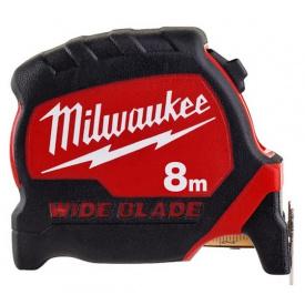 Рулетка метрическая Milwaukee WIDE BLADE 8 м 4932471816