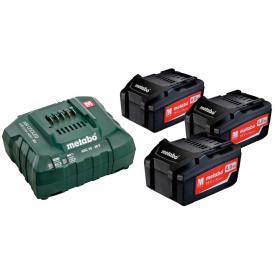 Базовый комплект Metabo Li-Power 18 В 4 Ач 3 шт +ASC 30-36 В (685049000)
