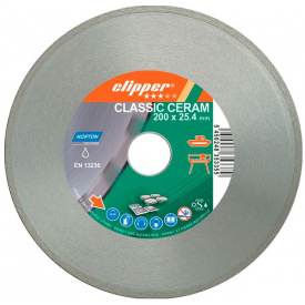 Диск алмазный Norton CLIPPER CLA CERAM по керамике 200 x 30.0/ 25.4 x (мм) (70V023)