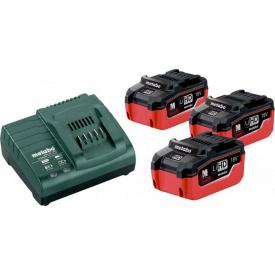 Базовый комплект Metabo Li-HD 18 В 5.5 Ач 3 шт +ASC 30-36 В (685074000)