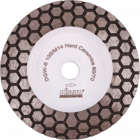 Фреза алмазная Distar DGM-S 100/M14 Hard Ceramics 60/70 (17483524005)