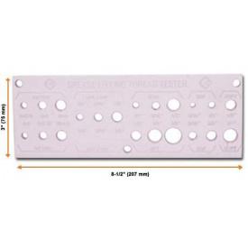 Инструмент для измерения резьбы прессовых маслёнок Groz THT-01