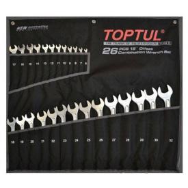 Набор ключей комбинированных TOPTUL GPAX2601
