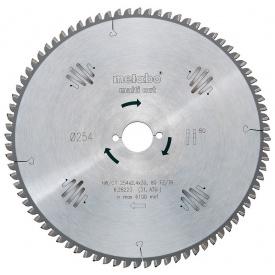 Пильный диск Metabo 190x30 HW/CT56 FZ/TR (628077000)