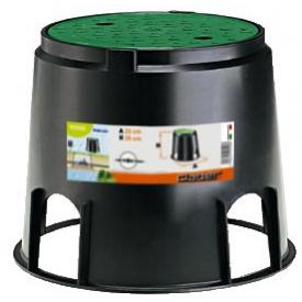 Коробка монтажная прямоугольная Claber на 5 клапанов для подземного полива (79000)