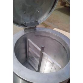 Котел пищеварочный масляный с миксером КПЭ-160М эталон