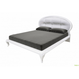 Ліжко 160, мяка спинка з каркасом Імперія MiroMark