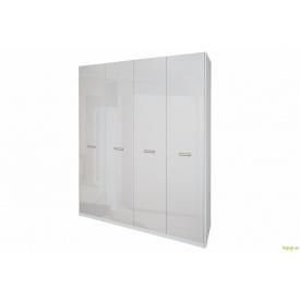 Шафа 4Д (без дзеркал) Белла біла MiroMark