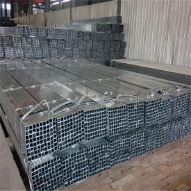 Труба оцинкованная стальная квадратная 100х100х6 мм