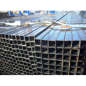 Труба оцинкованная стальная квадратная 50х25х2 мм