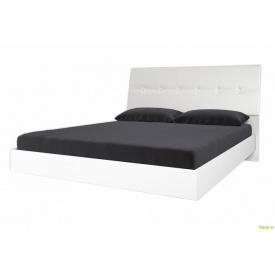 Ліжко 160 з м'якою спинкою без каркасу Рома MiroMark
