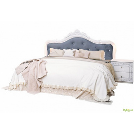 Ліжко 180 підйомне з каркасом + корона Луїза MiroMark