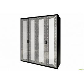 Шафа 4Д (без дзеркал) Віола MiroMark