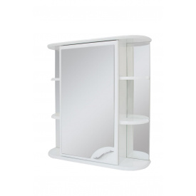 Шафа навісний дзеркальний для ванної кімнати БАЗИС 60 Пік