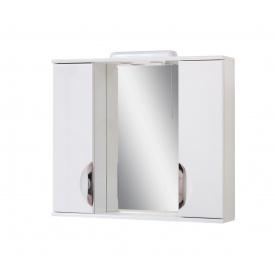 Дзеркало для ванної кімнати АЛЬВЕУС 80 ручка врізна Пік