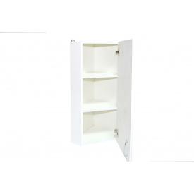 Шкаф навесной угловой для ванной комнаты 30 правый БАЗИС