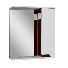 Дзеркало для ванної кімнати СІМПЛ 70 венге праве LED підсвічування Пік