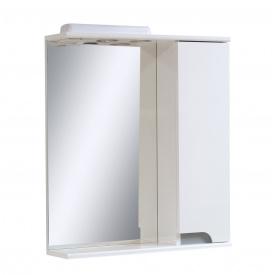 Дзеркало для ванної кімнати СІМПЛ 60 металік праве LED підсвічування Пік