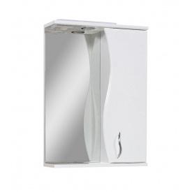 Дзеркало БАЗИС 60 праве з підсвічуванням Пік для ванної кімнати