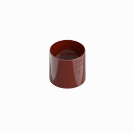 З'єднувач труби INES 80 мм RAL 3011 червоний