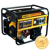Генератор бензиновый 5,0/5,5 кВт 4-х тактный электрозапуск SIGMA (5710311)