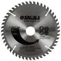 Круг отрезной по алюминию 150х2.2х22.2 мм 48 зубов SIGMA (1942351)