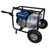 Мотопомпа 7,5 л с Hmax 26 м Qmax 60 м/ч 4-х тактный для грязной воды WETRON (772557)