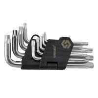 Ключи TORX 9 шт T10-T50 CrV короткие с отверстием SIGMA (4022211)