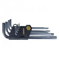 Ключи шестигранные 9 шт 1.5-10 мм CrV средние SIGMA (4022021)
