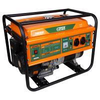 Генератор бензиновий 5,0/5,5 кВт 4-х тактний ручний запуск GRAD (5710955)