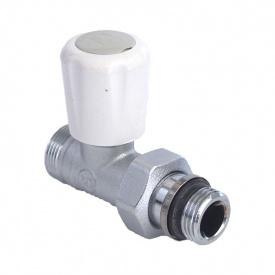 """Радіаторний клапан прямої термостатичний для подачі 1/2 """"для мідної труби"""
