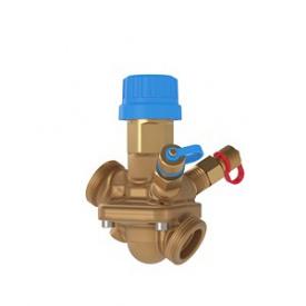 Комбінований балансувальний клапан AB-QM Ду25 з вимірювальними ніпелями